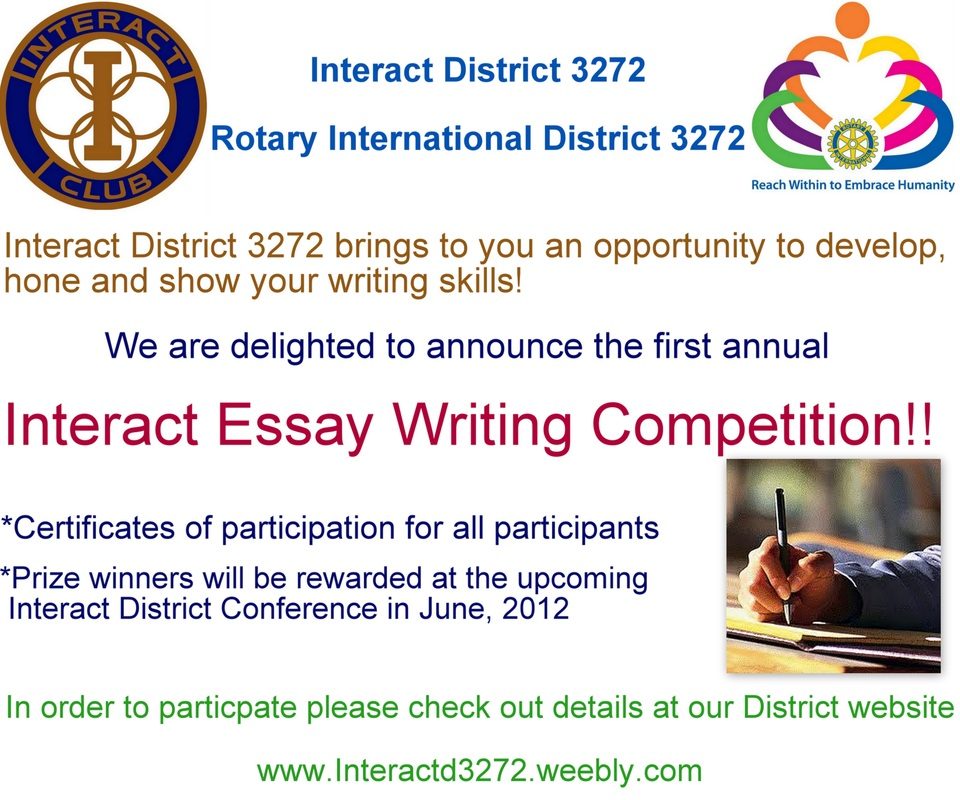 international competition essay writing